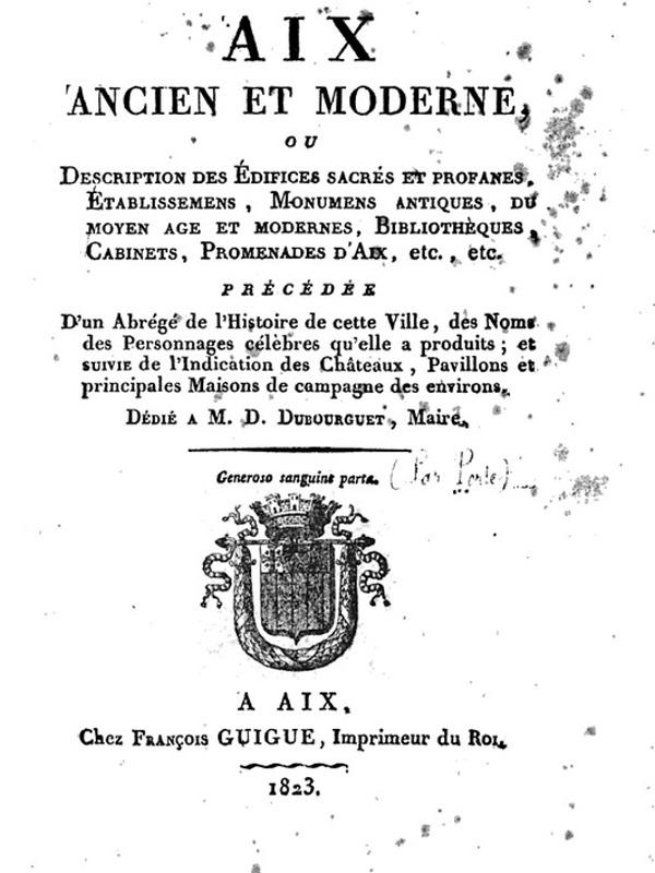 Aix ancien et moderne-1