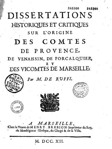 Dissertations historiques-0