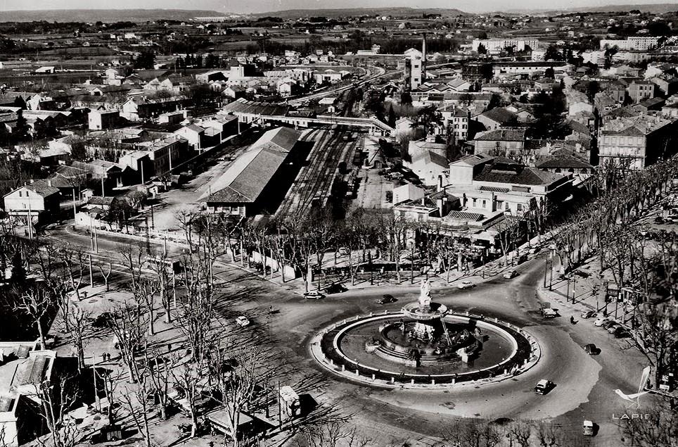 Vue sur encagnane 1950-1960