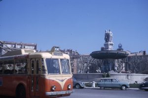 Aix en trolleybus