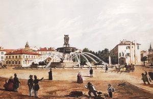Le cours et la rotonde avant 1883