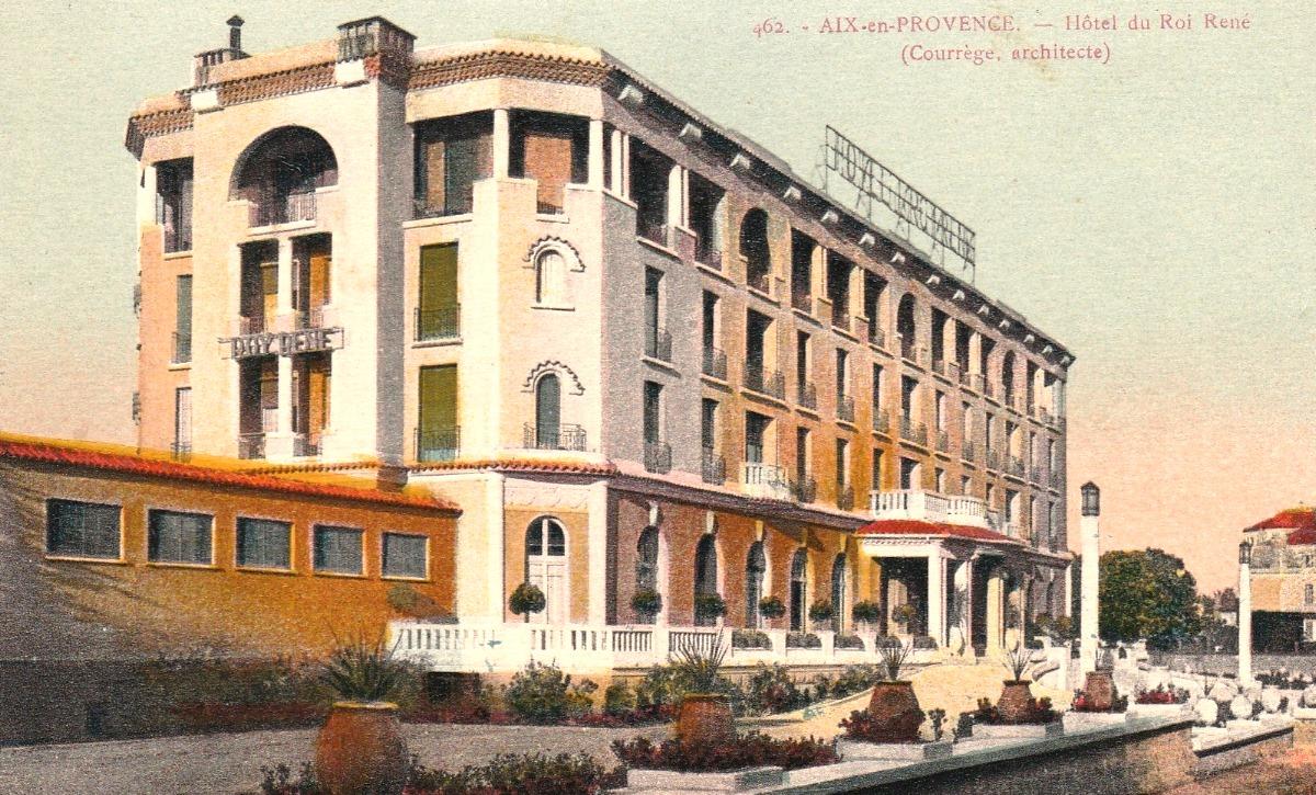 Roi ren aix histoire - Grand hotel de la poste salon de provence ...