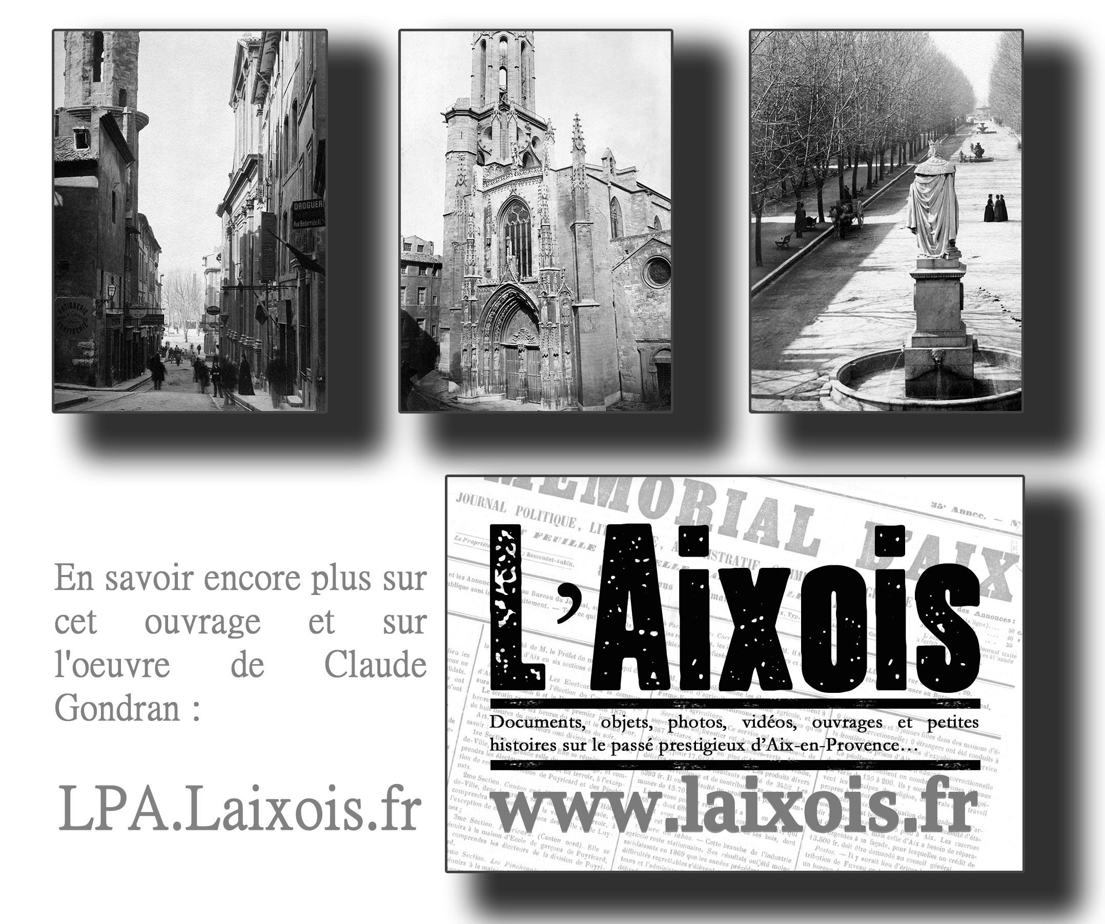 PHIOTOS DE CLAUDE GONDRAN – LE PROMENEUR AIXOIS – THIERRY BRAYER