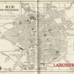 Un plan inédit d'Aix-en-Provence de 1944