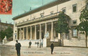 Cartes postales colorisées d'Aix-en-Provence