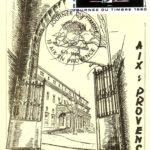 Dessin du palais de Justice