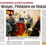 Après la dédicace à la Librairie Le Blason