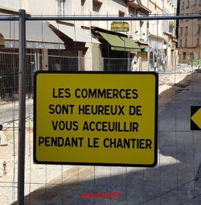 Mauvais accueil à Aix-en-Provence !
