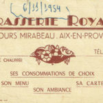 Carte de La Royale