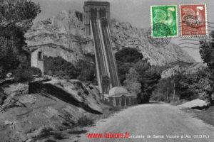 Le funiculaire de Sainte Victoire