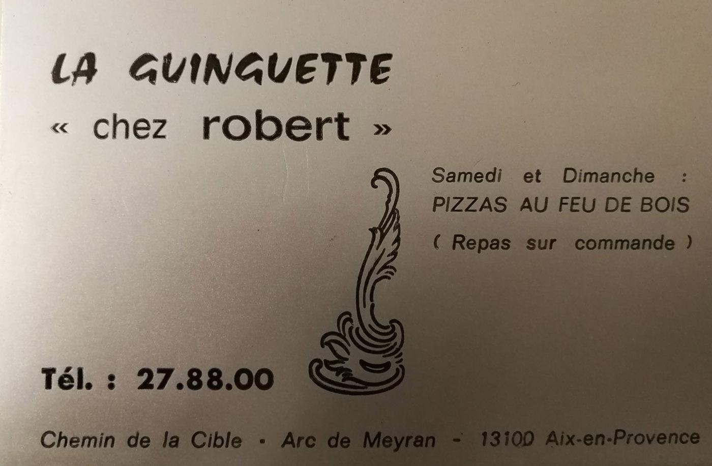 La Guinguette - Chez Robert