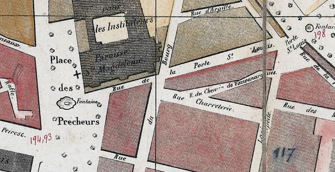 PORTE SAINT LOUIS 1848