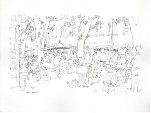 La place Richelme par Henri Crespi