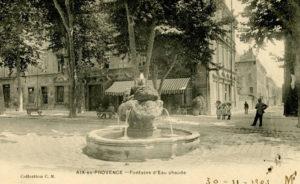 La fontaine d'eau chaude