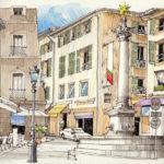 Aix-en-Provence vue par Jorge Royan