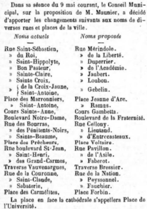 MEMORIAL 13 MAI 1894