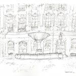 La place d'Albertas par Henri Crespi