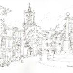 La place de l'Hôtel de Ville par Henri Crespi