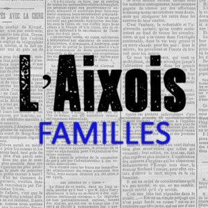 Familles aixoises