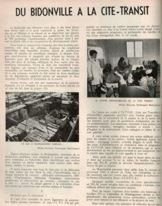 Aix : la fin des bidonvilles en 1966
