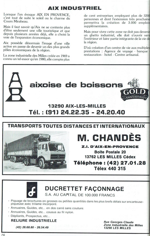 AIX-les-Milles INDUSTRIEL 1981