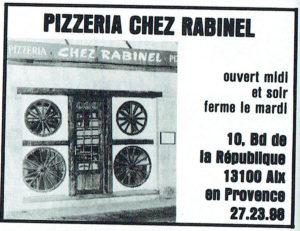 Où diner à Aix-En-Provence en 1981 ?