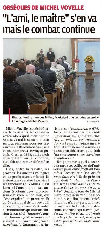 La Provence du 12 10 2018