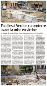 La mise en vitrine de la place de Verdun à Aix