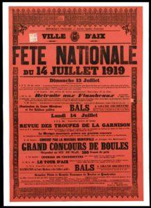 Il y a 100 ans !