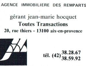Agence des Remparts