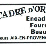 Le cadre d'or