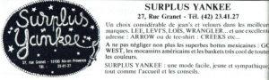 Surplus Yankee