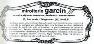 Miroiterie Garcin