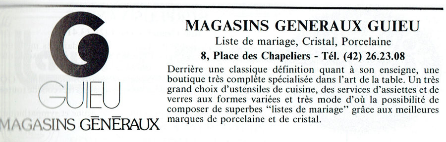 Magasins Généraux GUIEU