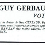 Guy Gerbaud