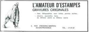 L'amateur d'estampes