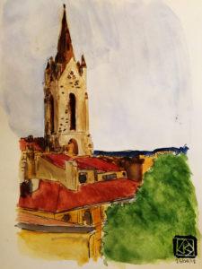 Saint-Jean-de-Malte en peinture