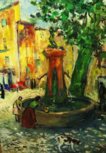 Une fontaine à Aix-en-Provence