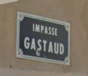 Le mystère de l'impasse Gastaud
