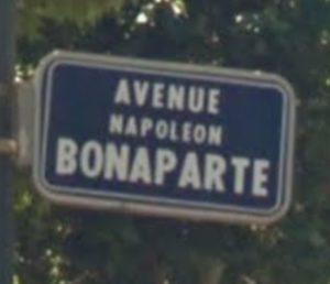 Où est passée la plaque de Napoléon ?