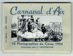 Le carnaval d'Aix en 1954