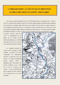 """Le """"militaire"""" à Aix-en-Provence"""