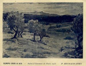 Temps gris à Aix