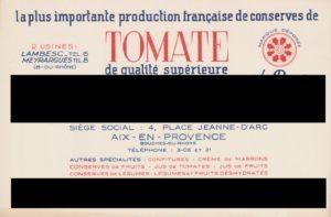 Qui est le plus grand producteur français de conserves de tomates ?