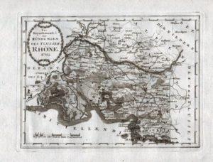 Alte carte von Bouches-du-Rhône