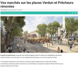 Les 2 places d'Aix-en-Provence