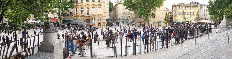 Place de Verdun le 24 mai 2019