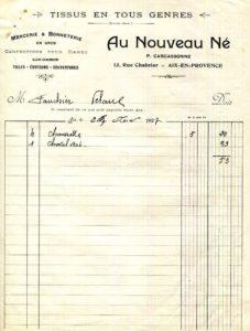 Mais qui était G. Carcassonne du stade éponyme d'Aix ?