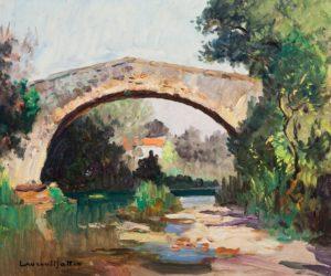 Aix-en-Provence, le Pont des Trois Sautets