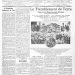 1909 : Lambesc et sa proche région tremblent